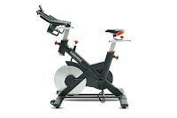 Inspire Fitness IC2 Indoor Training Cycle Spin Bike, with 53 lb flywheel, poly-v-belt drive, friction based resistance, 4-way adjustable seat & handlebars