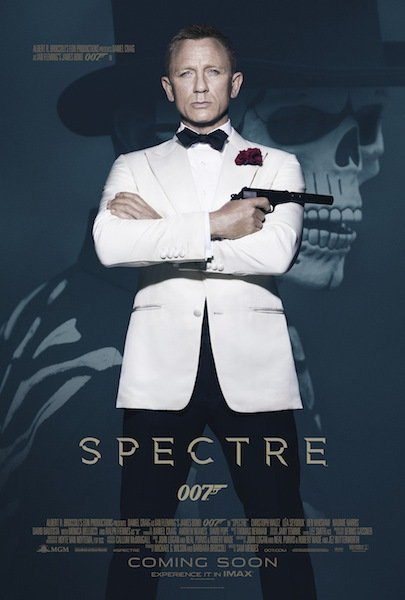 Poster Of James Bond Spectre 2015 720p Hindi BRRip Dual Audio Full Movie