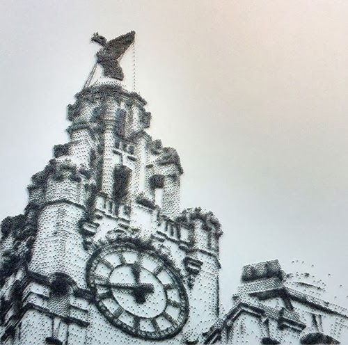 09-The-Liver-Building-David-Foster-Stippling-Art-with-Nails-www-designstack-co