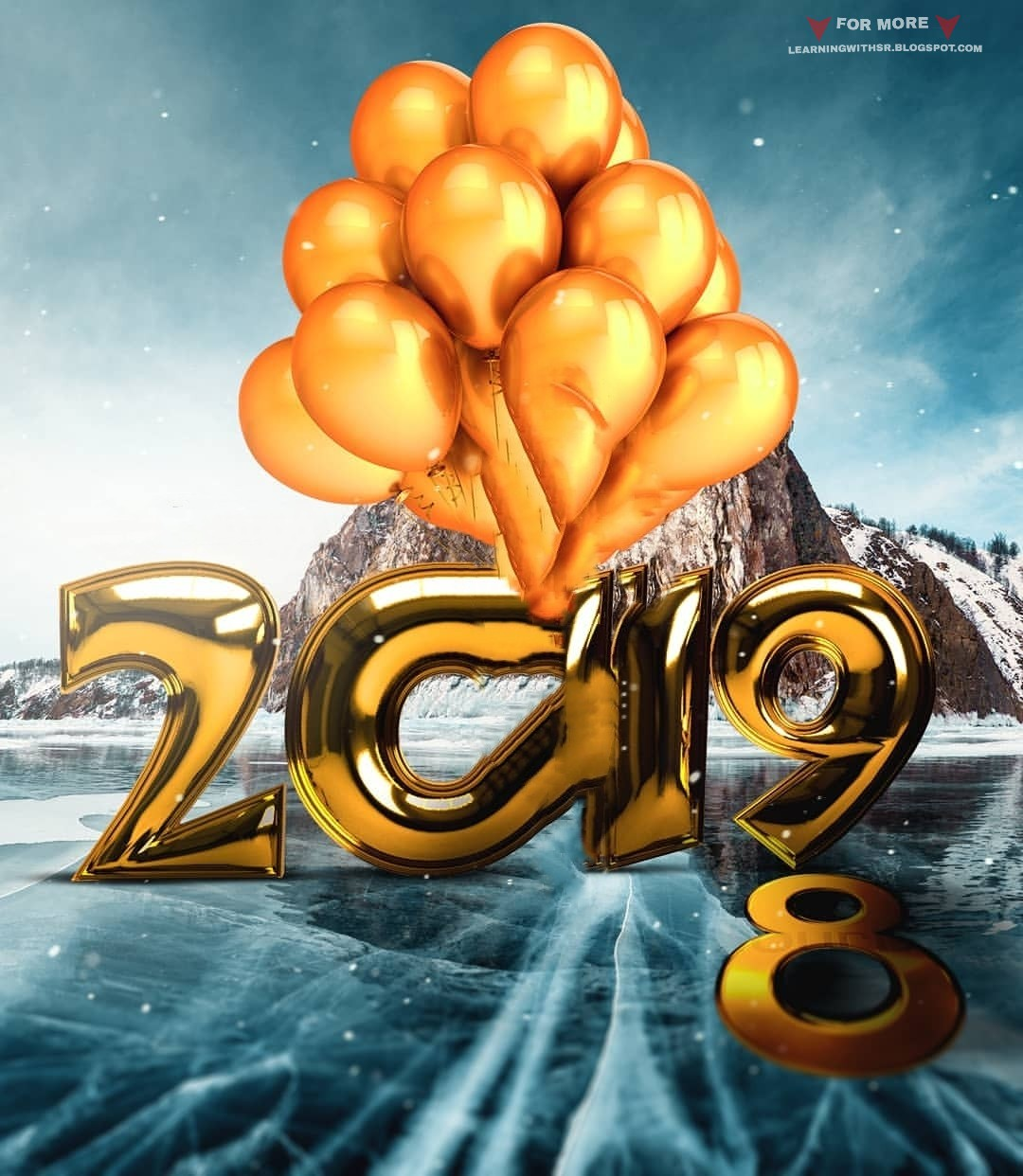 2019 Happy New Year Background Download New Year Photo Editing Cb