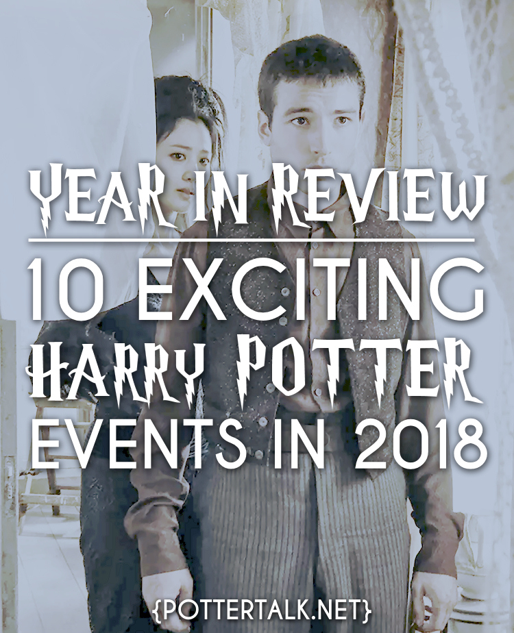 Harry Potter Events From 2018