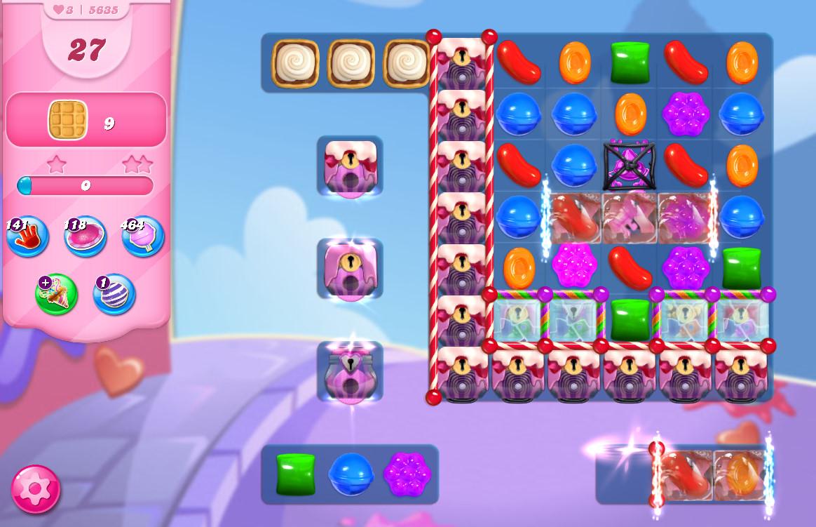 Candy Crush Saga level 5635