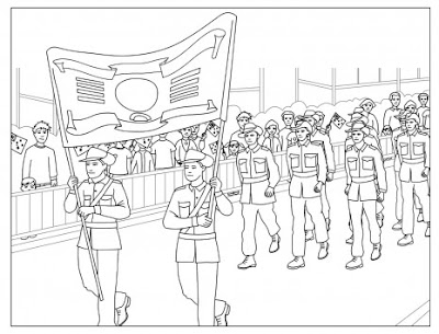 anzac day colouring pages