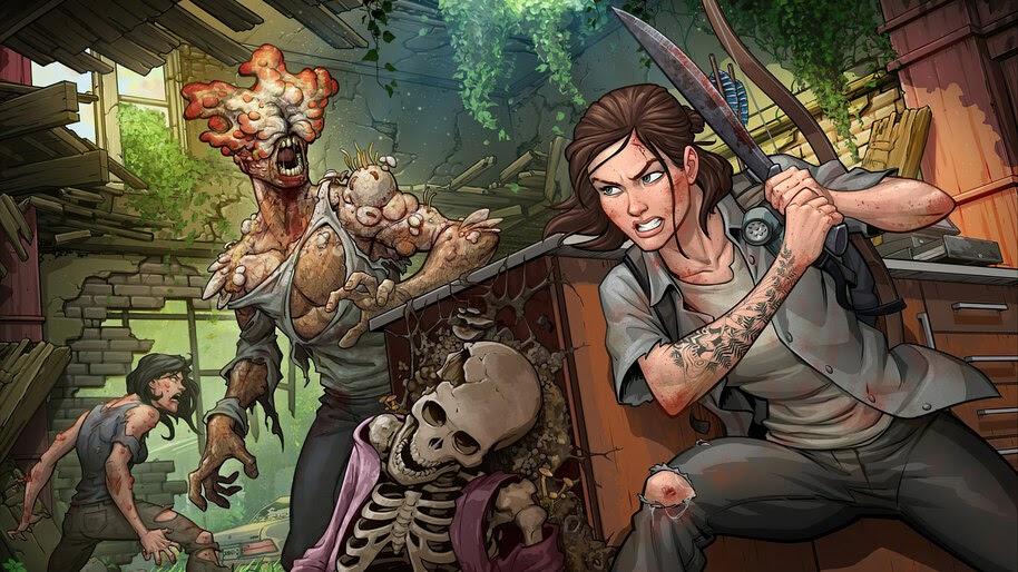 Ellie, The Last of Us Part 2, Battle, 4K, #5.2477