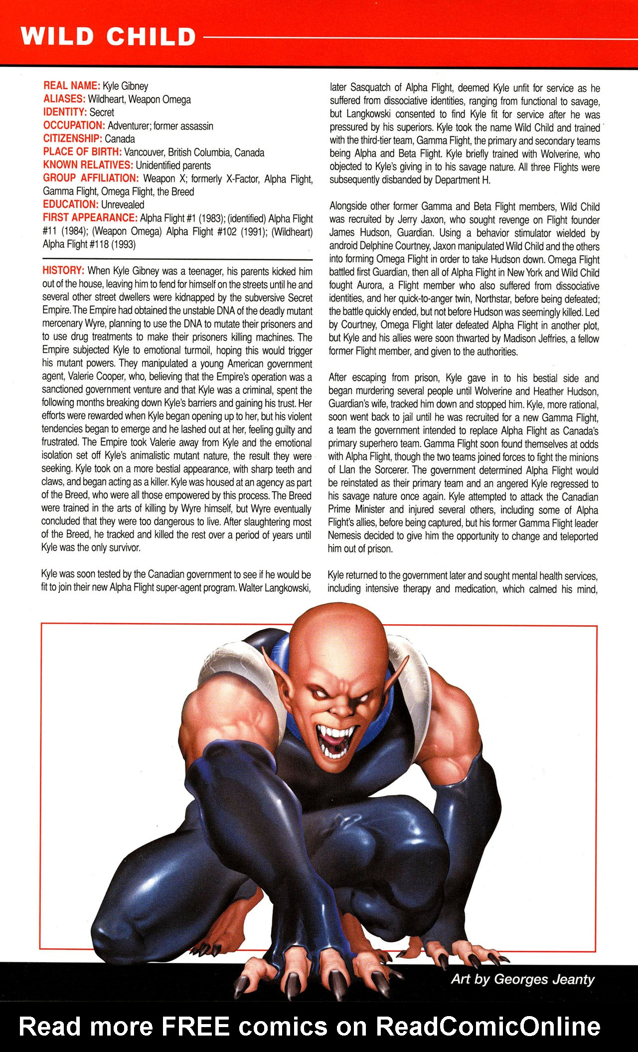 Read online All-New Official Handbook of the Marvel Universe A to Z comic -  Issue #12 - 34