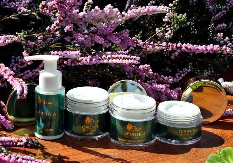 Ava Laboratorium OPUNTICA Hydro Hi-Lift - nowa linia kosmetyków anti-aging z opuncją figową recenzja
