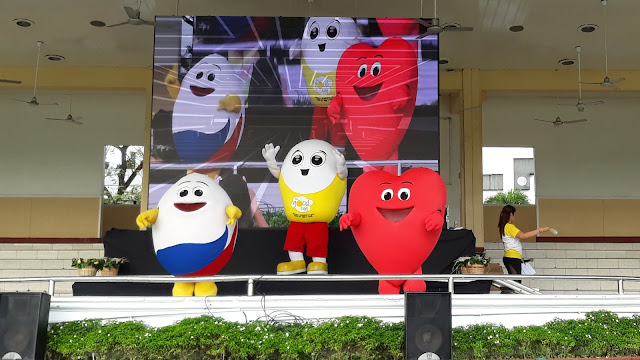 Mr. Eggy, Mr. Good Egg and Mr. Hearty.