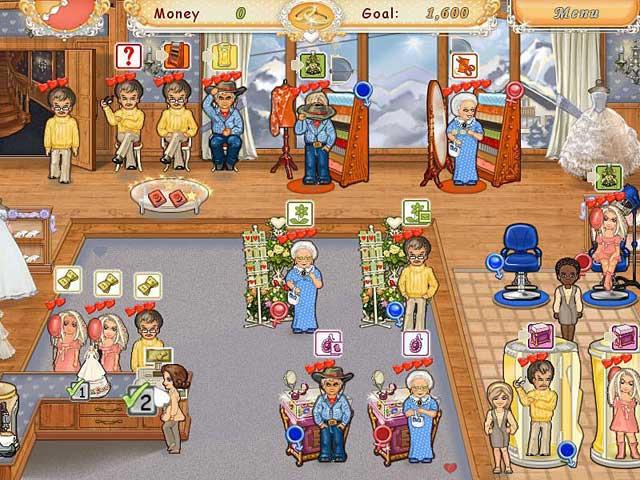 لعبة sally's salon كاملة من ميديا فاير