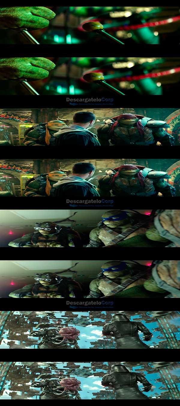 Tortugas Ninja 2 Fuera de las sombras HD 3D 1080p Latino