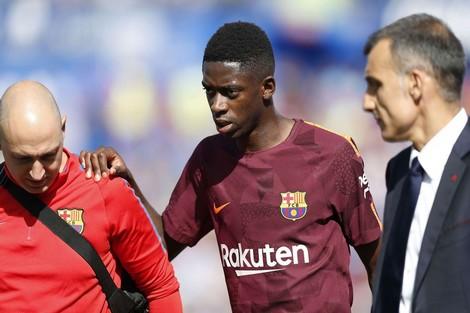 برشلونة يفقد خدمات ديمبيلي إلى نهاية العام