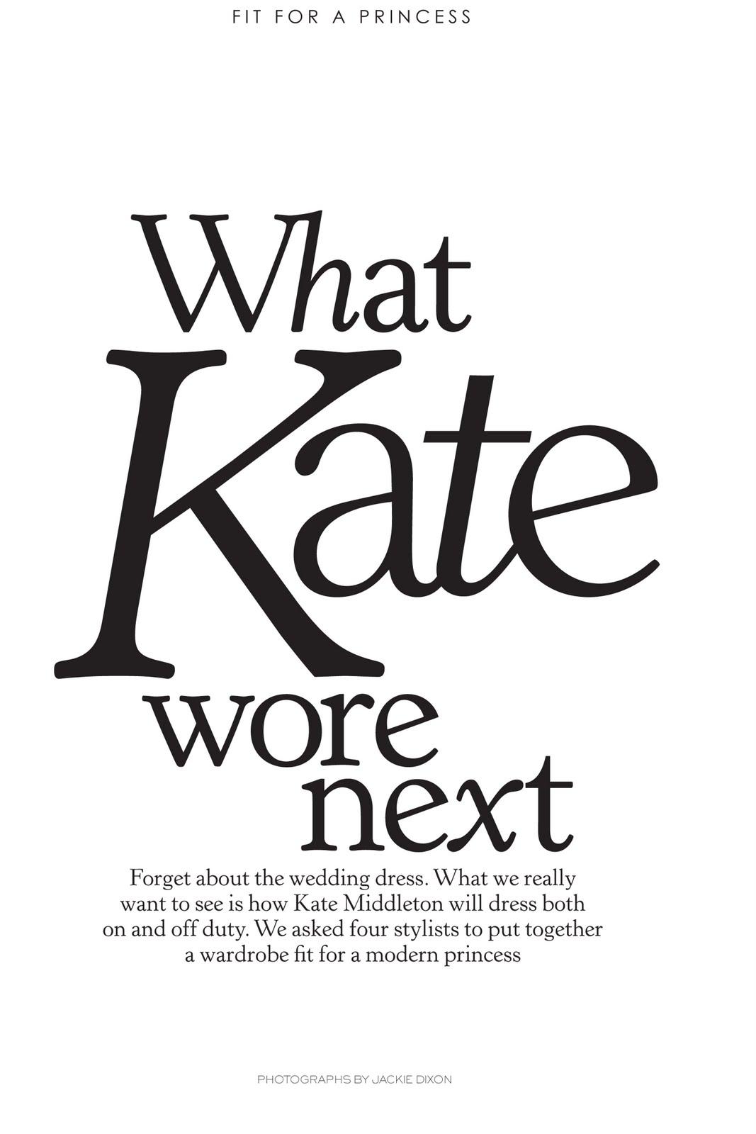 SHOW ME YOUR WARDROBE.COM: Show Me Your Wardrobe Kate