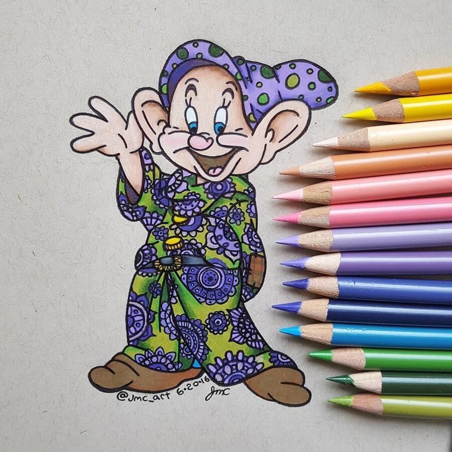10-Dopey-The-Seven-Dwarfs-Justice-Culbert-www-designstack-co