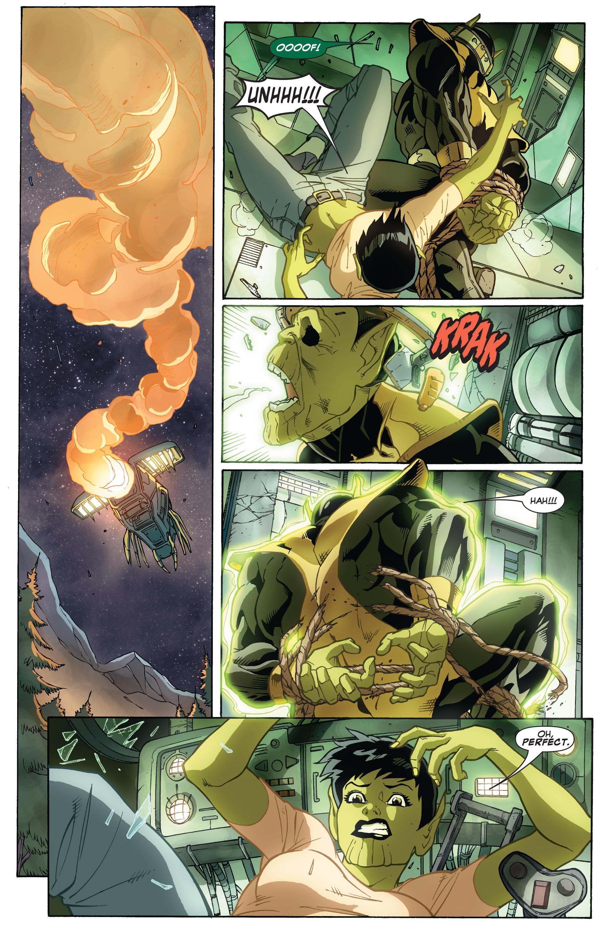 Read online She-Hulk (2005) comic -  Issue #32 - 21
