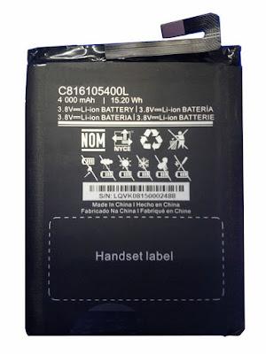 BLU C816105400L Batterij