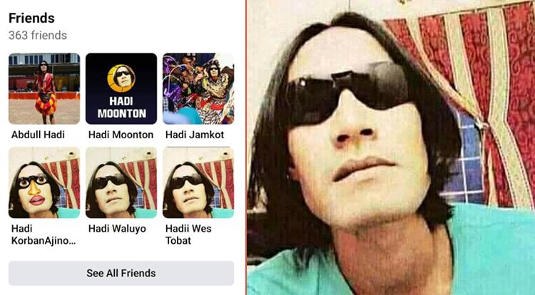 Hadi Nyarr Gress Fake Facebook Accounts