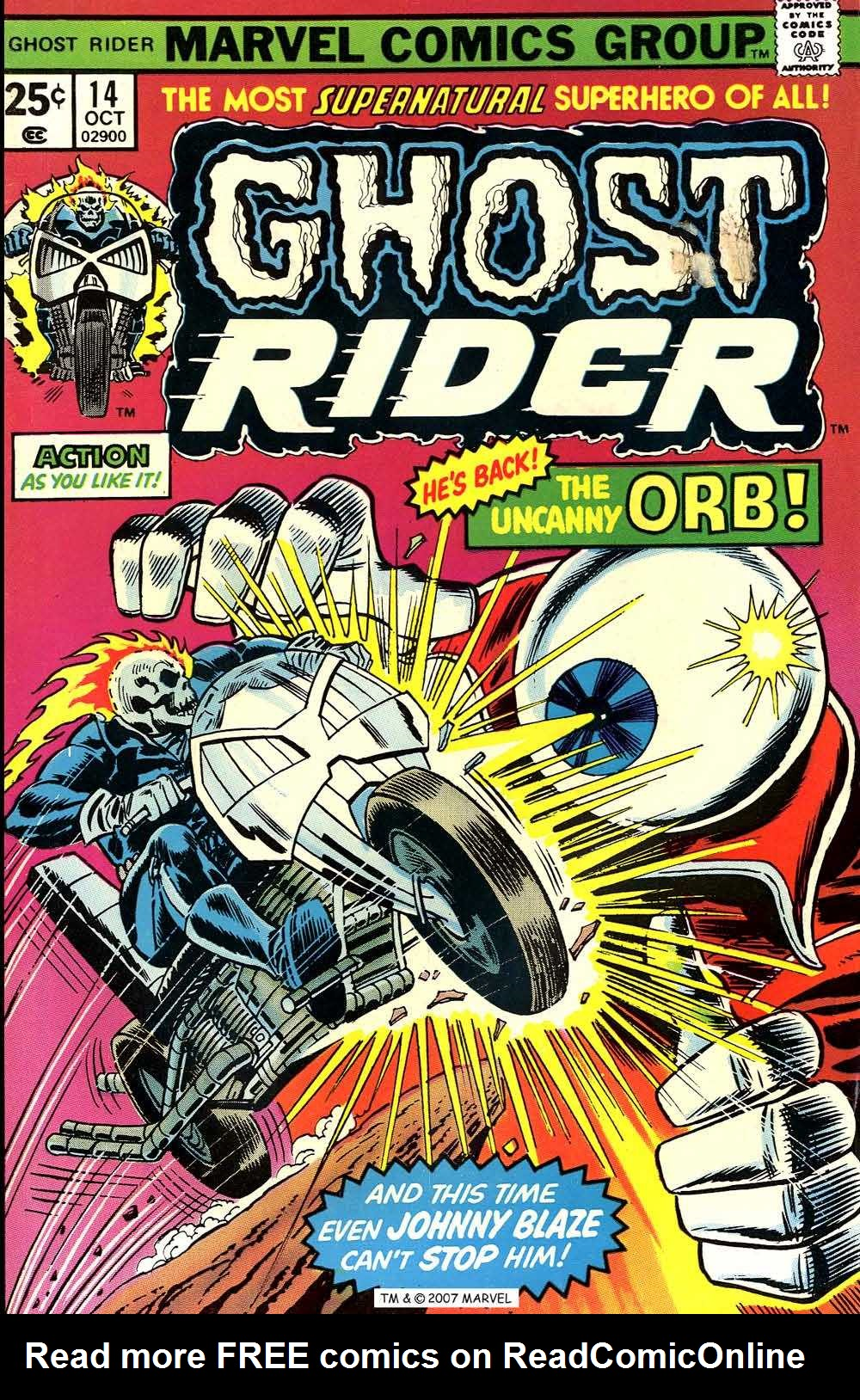 Ghost Rider (1973) Issue #14 #14 - English 1