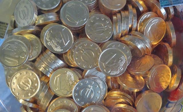 Euro Krise Währung Münzen