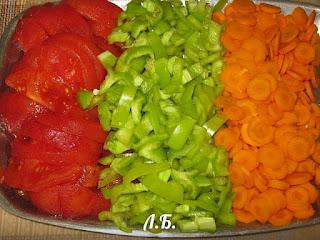 заморозка овощей для супов +на зиму