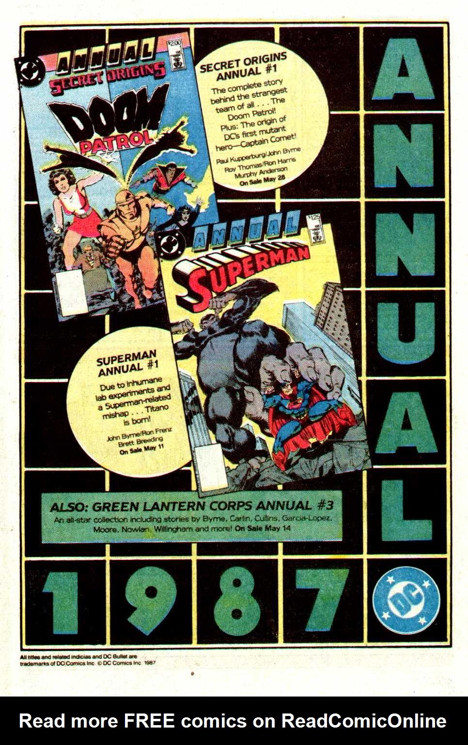 Read online Secret Origins (1986) comic -  Issue #16 - 36