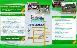 Download Desain Brosur PPDB Tahun Pelajaran 2019/2020 Photoshop (Filetype:PSD)