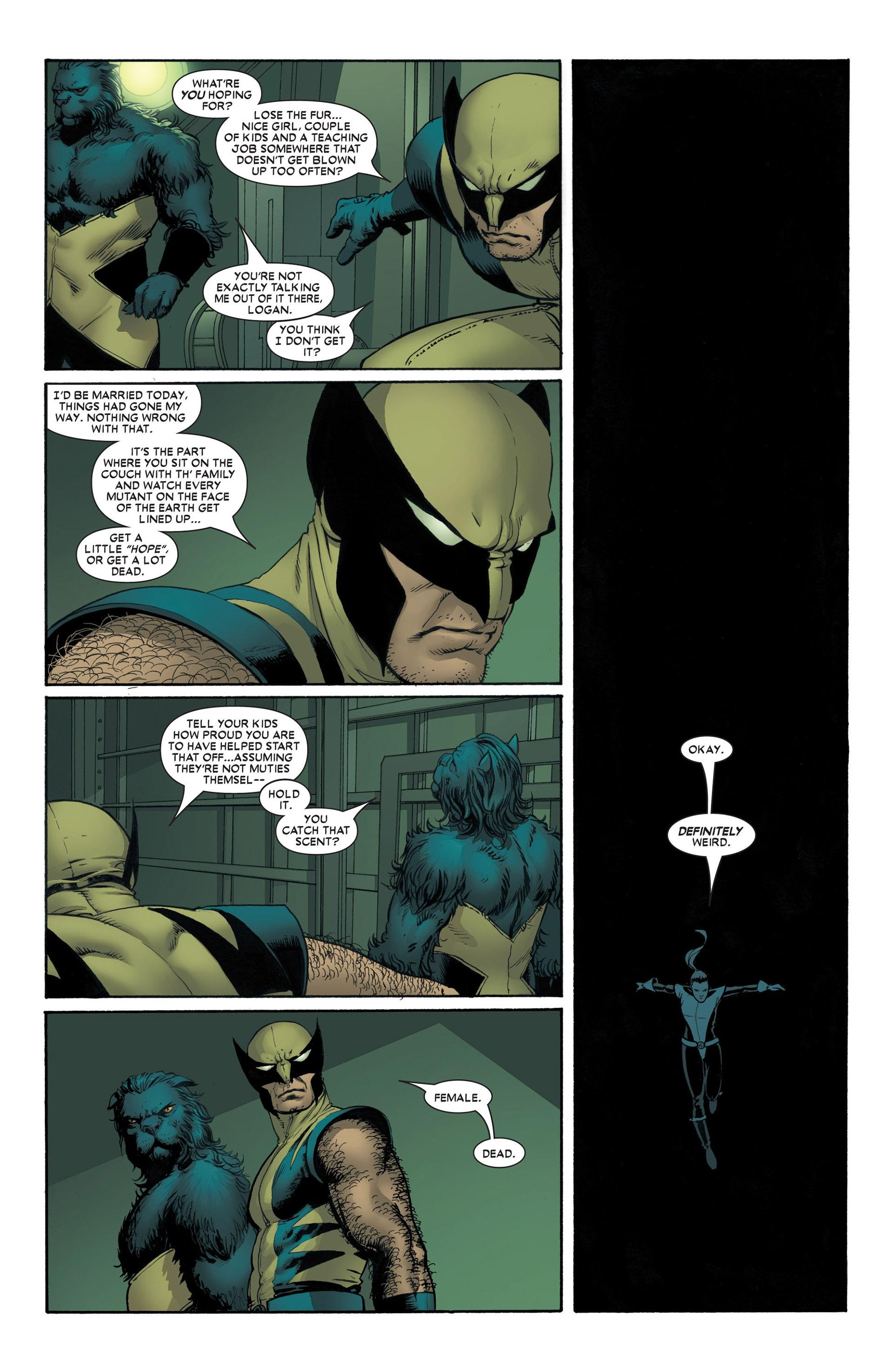 Read online Astonishing X-Men (2004) comic -  Issue #4 - 10