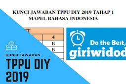Kunci Jawaban TPPU DIY 2019 Tahap 2 Matematika