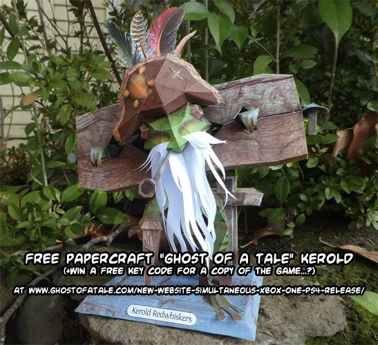 Papercraft contest: