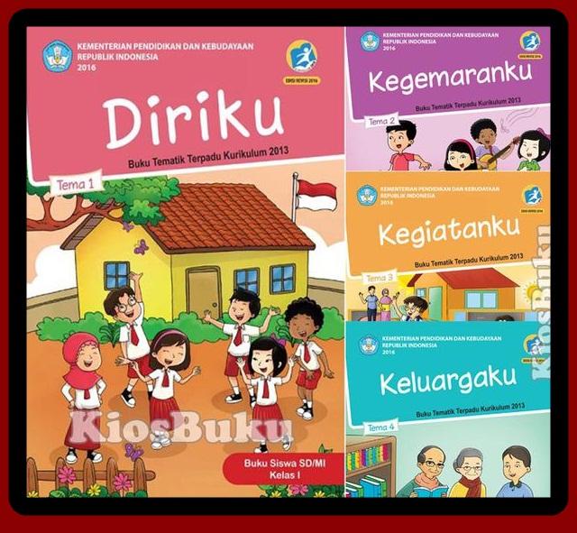 Download Buku Siswa Dan Guru Kelas 1 Kurikulum 2013 Revisi Terbaru 2017