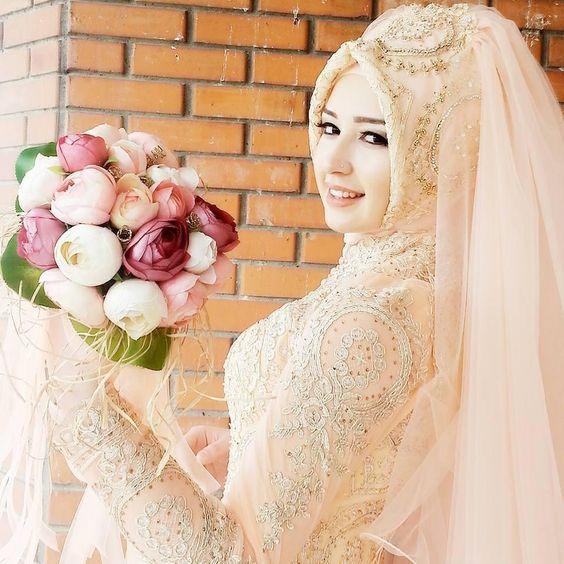 20 Model Baju Pengantin Muslimah Modern Terbaru Mesin Jahit