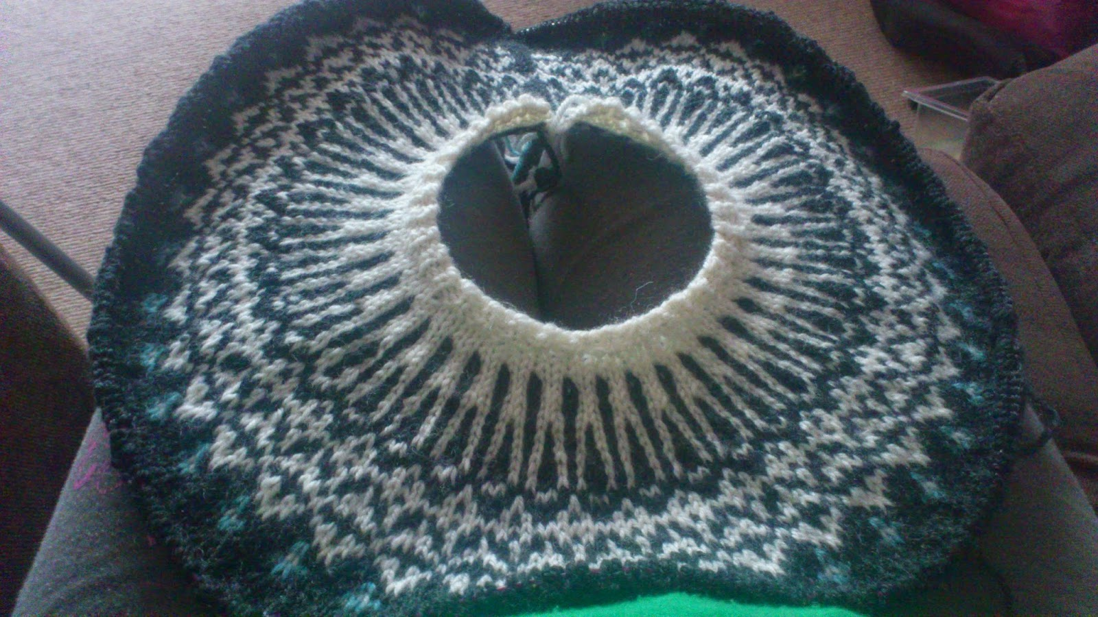 aaa1d5a290c3 My forays into Knitting  Top-Down Icelandic Sweater