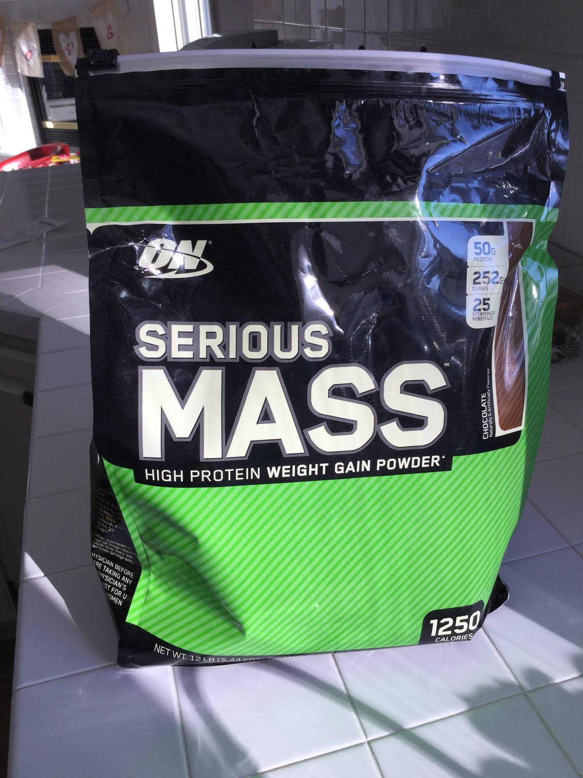 Nipperized Optimum Nutritions Serious Mass 12lbs Nutrition Gainer Is My Go To At The Moment Its Cheap Packs A Whopping 1250 Calories In Serving And Keeps Me Meeting