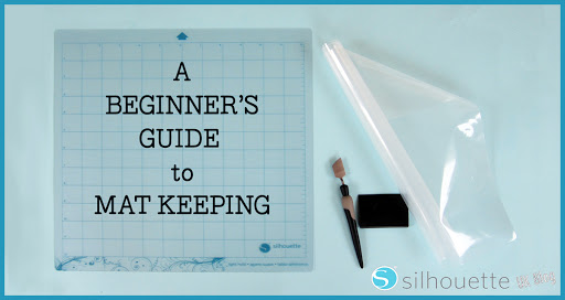 Cover Beginner's Guide to Silhouette Mats by Janet Packer for Silhouette UK Blog #silhouette #cutting #mats #matcare