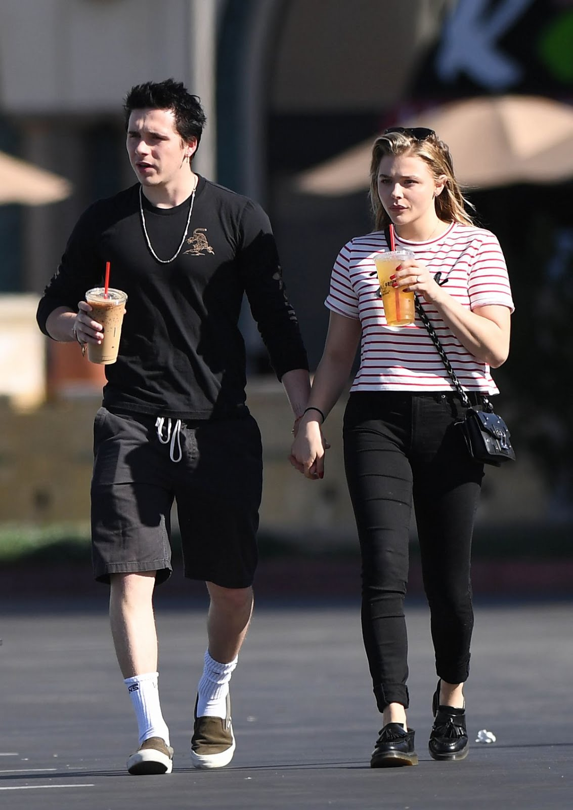 Photos of Chloe Grace Moretz and Brooklyn Beckham Out in Los Angeles