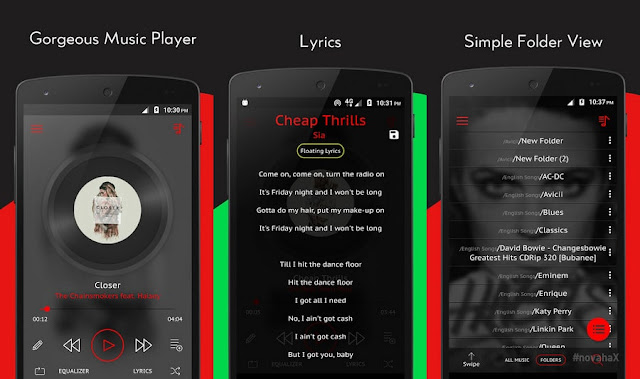 Crimson music player mod apk