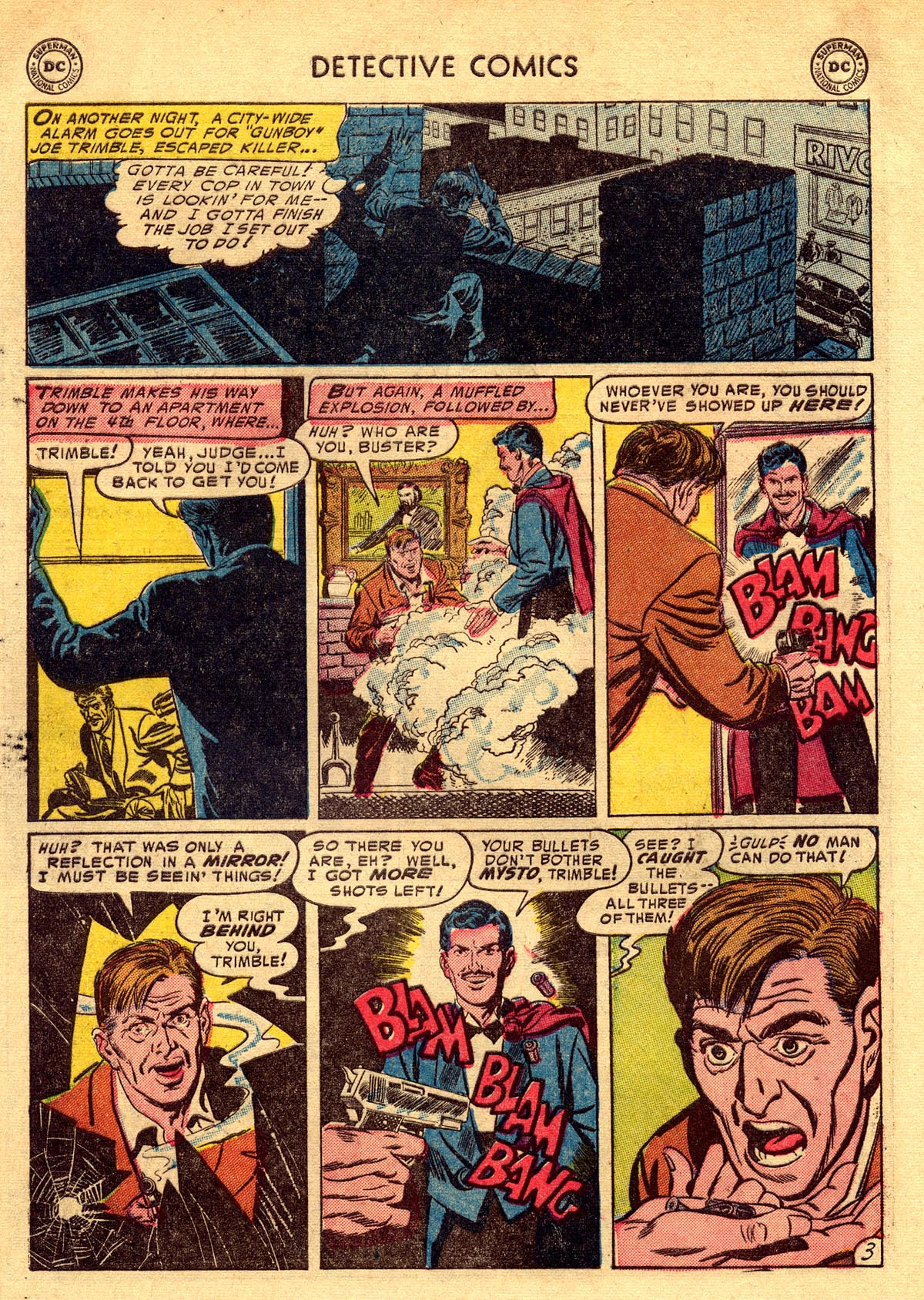 Read online Detective Comics (1937) comic -  Issue #203 - 36