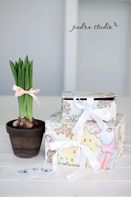 handmade gift box, gift box, bow