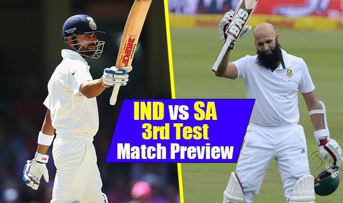 Ind vs SA 3rd Test