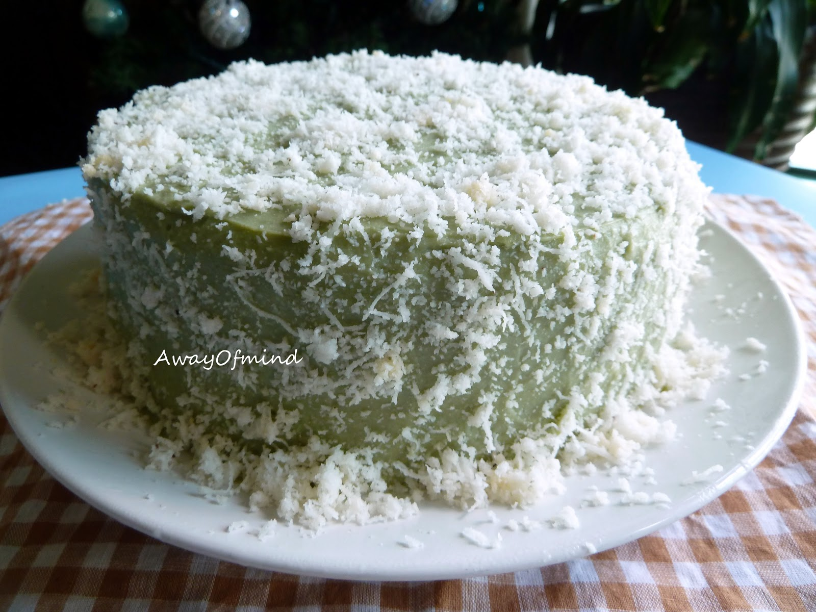 Pandan Cake Jelly Recipe: Awayofmind Bakery House: New Challenge: Pandan Layer Cake