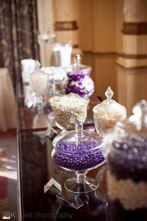 candy bar, wedding reception