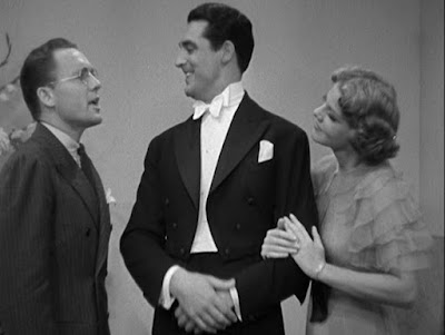 Frank Albertson, Cary Grant, and Elissa Landi in Enter, Madame!