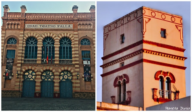Gran Teatro Falla y Torre de Tavira