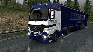 TSCHUDI Logistics pack for Mercedes Actros 2009 (EviL)