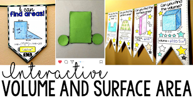 7 cool ideas for teaching nets, surface area and volume with interactive, hands-on and visual materials