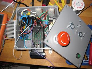 Internals of PID controller box