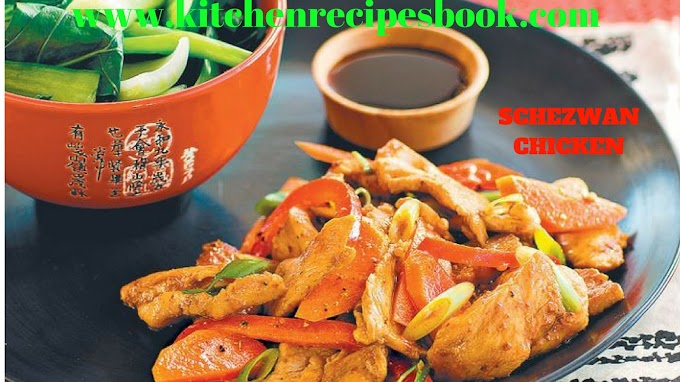 SCHEZWAN CHICKEN | HOW TO MAKE SCHEZWAN CHICKEN THIGHS RECIPE