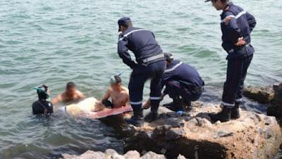 بنزرت-غار الملح:اكتشاف جثة غريق طافية على سطح الماء