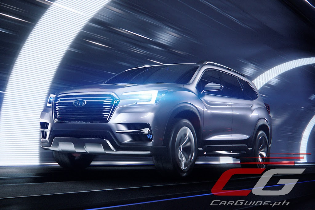 2018 subaru ascent suv. wonderful subaru look out ford explorer and mazda cx9 thereu0027s a new entry thatu0027s knocking  at your door it comes from subaru after being teased as the viziv7 concept  for 2018 subaru ascent suv