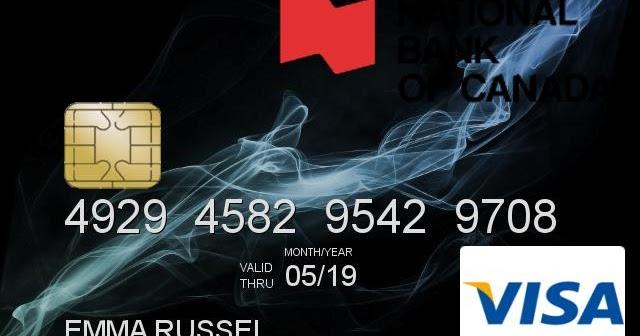 Credit Cvv 2019 Card Number And Visa