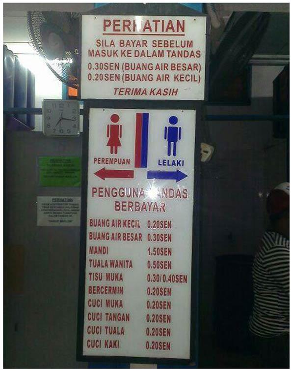 Hasil carian imej untuk bayaran tandas