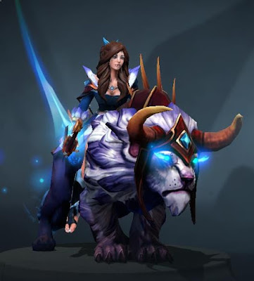 Mirana - Darkfall Warden